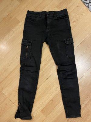 C&A Clockhouse Cargo Pants black