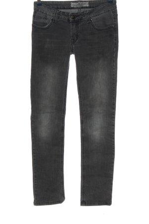 Clockhouse Jeans vita bassa nero stile casual