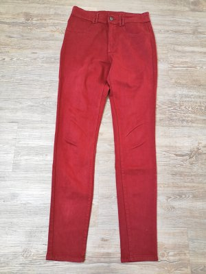Clockhouse Jeans Hose high waist 36 rot stretch