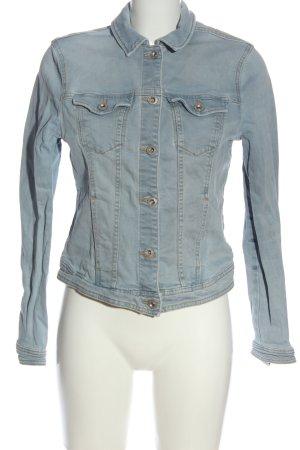 Clockhouse Blazer en jean gris clair style décontracté