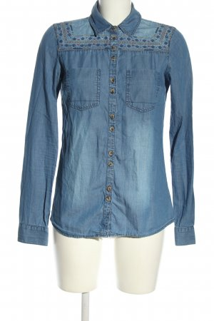 Clockhouse Jeansbluse blau Casual-Look