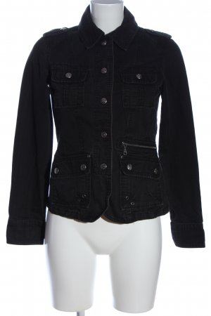 Clockhouse Jeansjacke schwarz Casual-Look