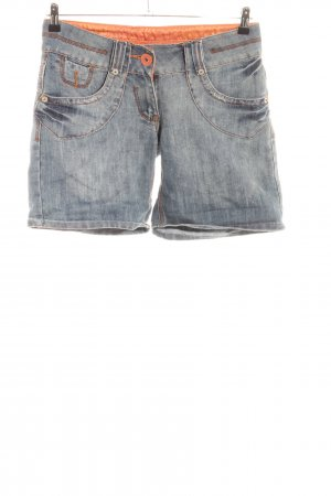 Clockhouse Pantaloncino di jeans blu stile casual