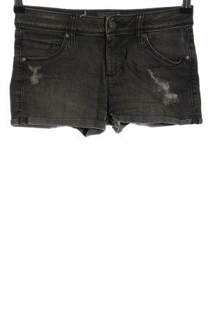 Clockhouse Pantaloncino di jeans grigio chiaro stile casual