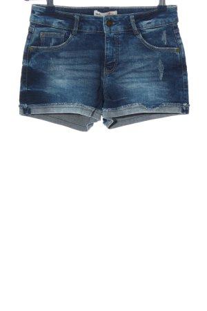 Clockhouse Jeansshorts blau Street-Fashion-Look