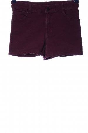 Clockhouse Jeansshorts lila Casual-Look