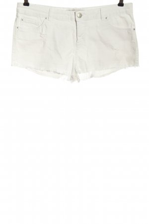 Clockhouse Jeansshorts weiß Casual-Look