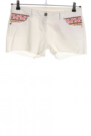Clockhouse Jeansshorts grafisches Muster Casual-Look
