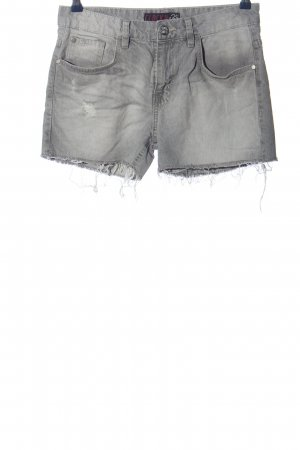Clockhouse Jeansshorts hellgrau Casual-Look