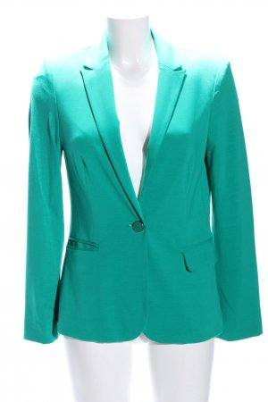 Clockhouse Blazer in jersey turchese stile casual