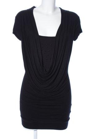Clockhouse Jerseykleid schwarz Elegant