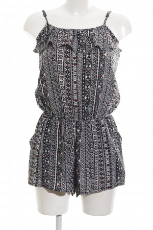 Clockhouse Jumpsuit Allover-Druck Street-Fashion-Look