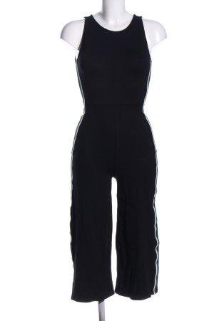 Clockhouse Jumpsuit schwarz-weiß Casual-Look