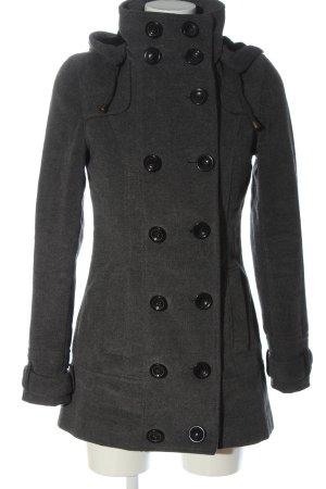Clockhouse Manteau à capuche gris clair style d'affaires