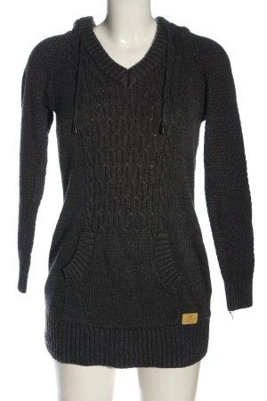 Clockhouse Sweatshirt met capuchon zwart casual uitstraling