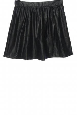 Clockhouse Faux Leather Skirt black casual look