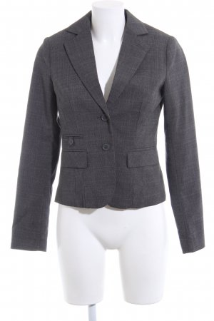Clockhouse Kurz-Blazer hellgrau Allover-Druck Business-Look