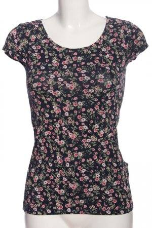 Clockhouse Kurzarm-Bluse Allover-Druck Casual-Look