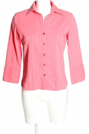Clockhouse Kurzarm-Bluse pink Business-Look