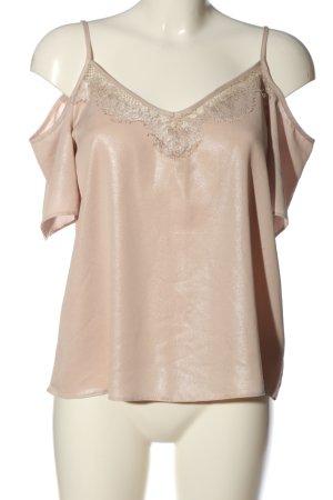 Clockhouse Kurzarm-Bluse pink Casual-Look