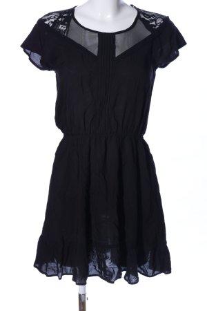Clockhouse Jurk met korte mouwen zwart elegant