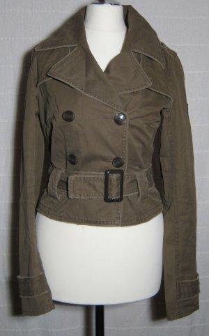 CLOCKHOUSE Kurzblazer Größe 34  Braun Stylischer Uniform Style