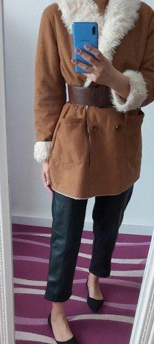 C&A Clockhouse Manteau d'hiver marron clair-brun