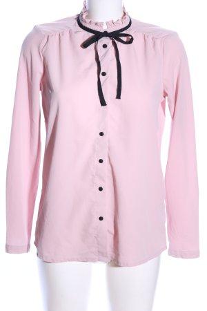 Clockhouse Langarm-Bluse pink Elegant