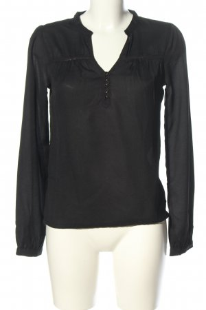 Clockhouse Long Sleeve Blouse black casual look