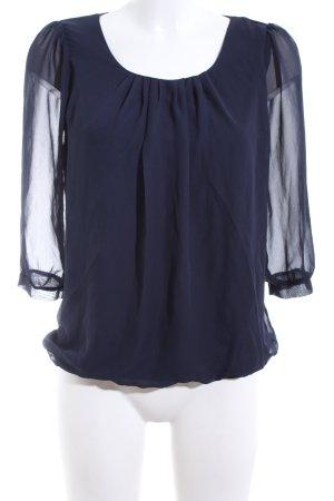 Clockhouse Langarm-Bluse blau Casual-Look