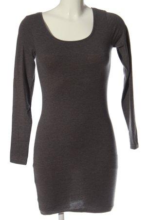 Clockhouse Sukienka z długim rękawem brązowy Melanżowy W stylu casual