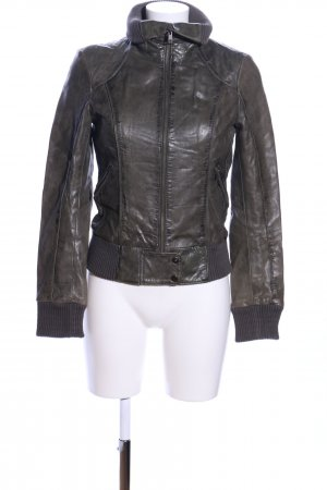 Clockhouse Lederjacke braun Casual-Look