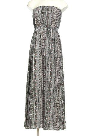 Clockhouse Maxi Dress abstract pattern elegant