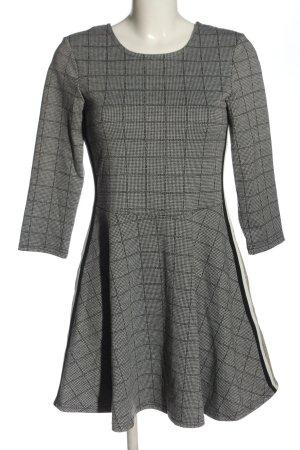 Clockhouse Mini Dress black-white allover print casual look