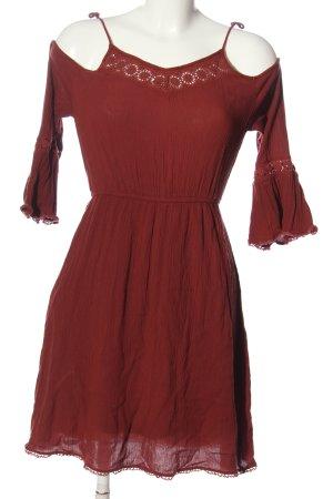 Clockhouse Mini Dress red casual look