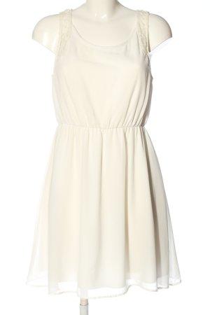 Clockhouse Mini Dress natural white elegant