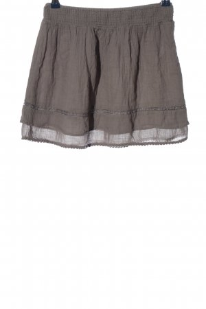 Clockhouse Minifalda gris claro look casual