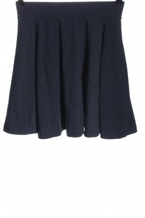 Clockhouse Minifalda azul moteado look casual