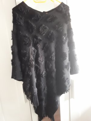 C&A Clockhouse Knitted Poncho black