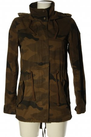 Clockhouse Parka Allover-Druck Casual-Look
