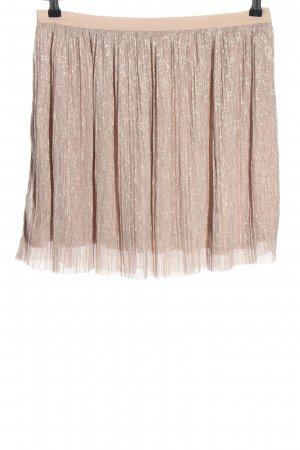 Clockhouse Pleated Skirt pink casual look