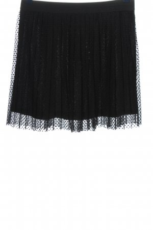 Clockhouse Pleated Skirt black casual look