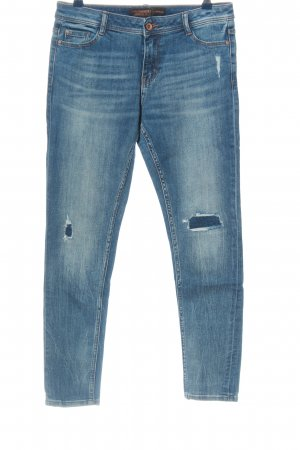 Clockhouse Röhrenjeans blau Casual-Look