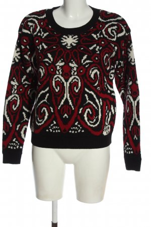 Clockhouse Crewneck Sweater abstract pattern casual look