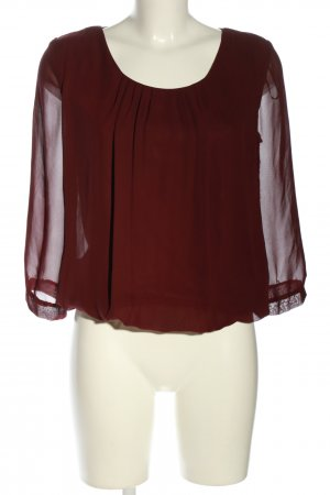 Clockhouse Schlupf-Bluse rot Casual-Look