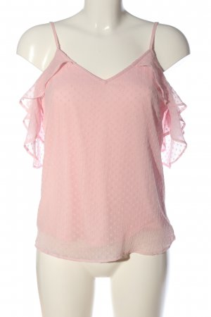 Clockhouse Schlupf-Bluse pink Casual-Look