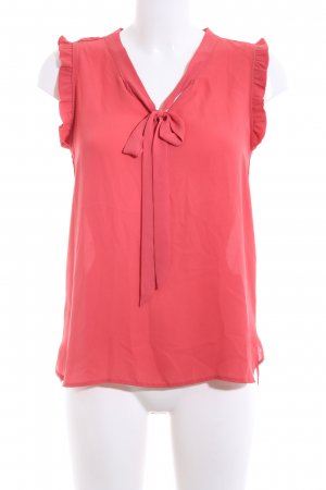 Clockhouse Schluppen-Bluse rot Business-Look