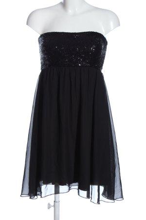 Clockhouse schulterfreies Kleid schwarz Elegant