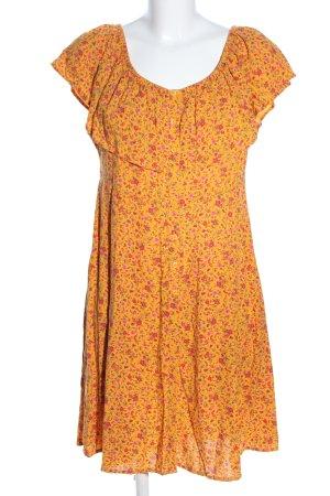 Clockhouse Off the shoulder jurk volledige print casual uitstraling