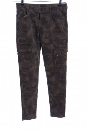 Clockhouse Skinny Jeans camouflage pattern casual look
